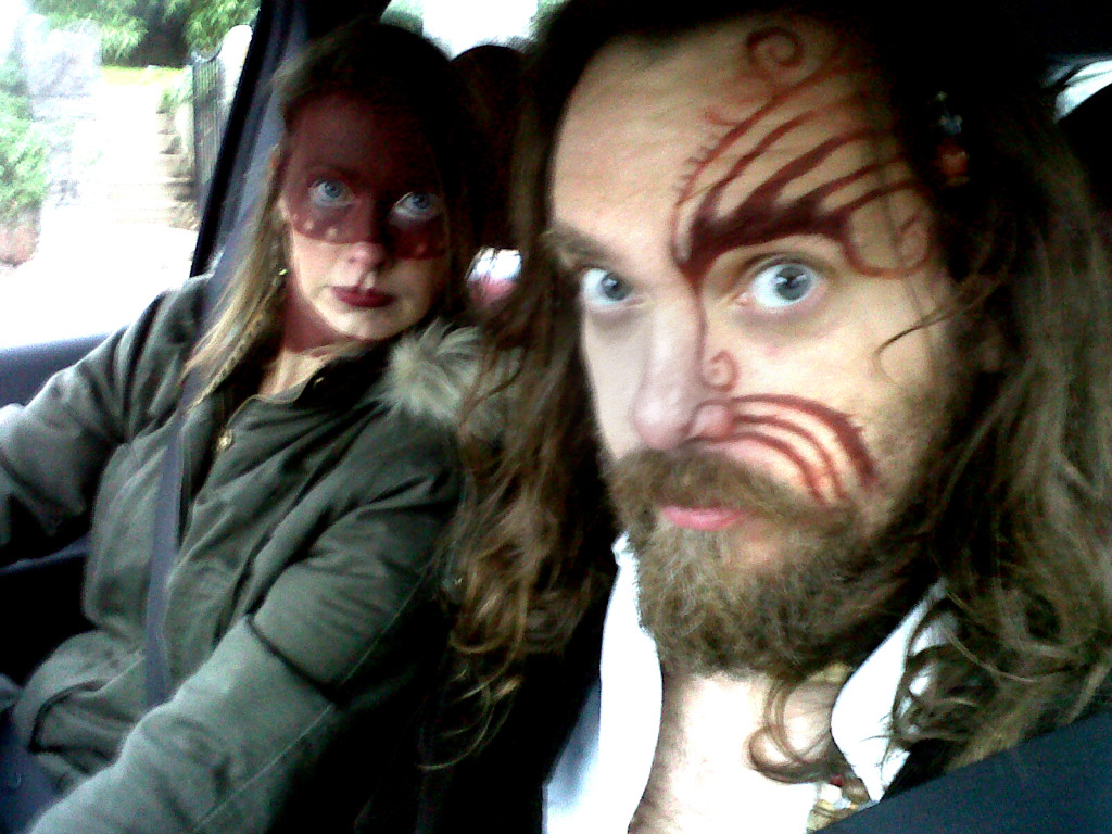 pagan photoshoot selfie